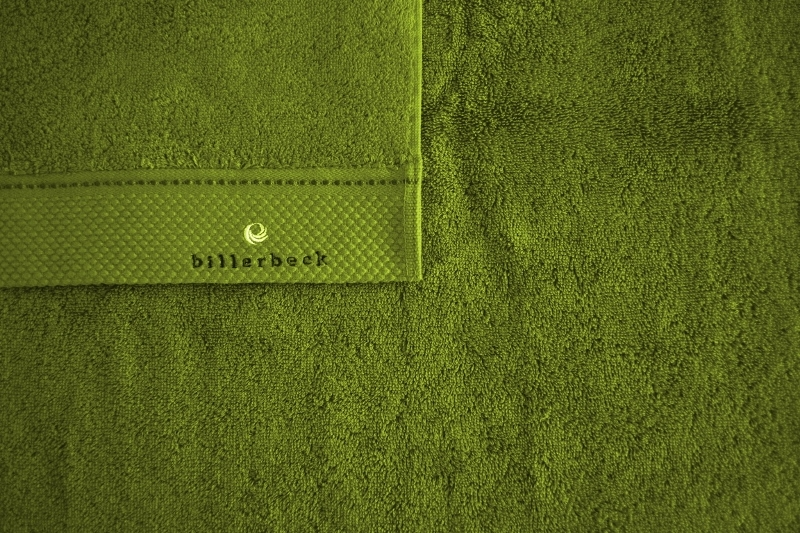 Billerbeck Zöld törölköző-1